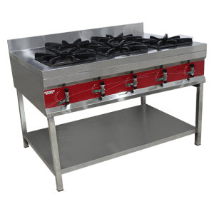 Cooking Stand with 5 burners