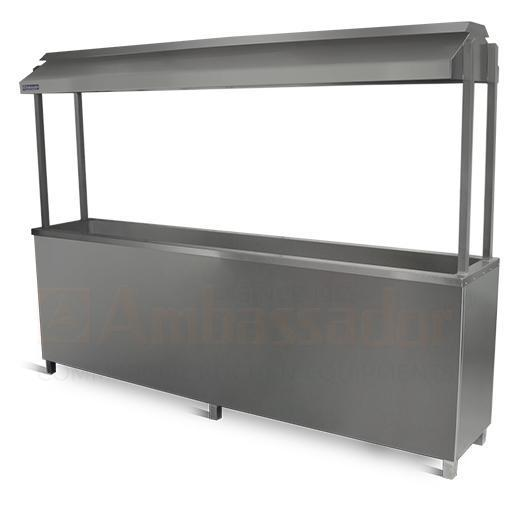 BBQ PIT WITH CANOPY & STAND
