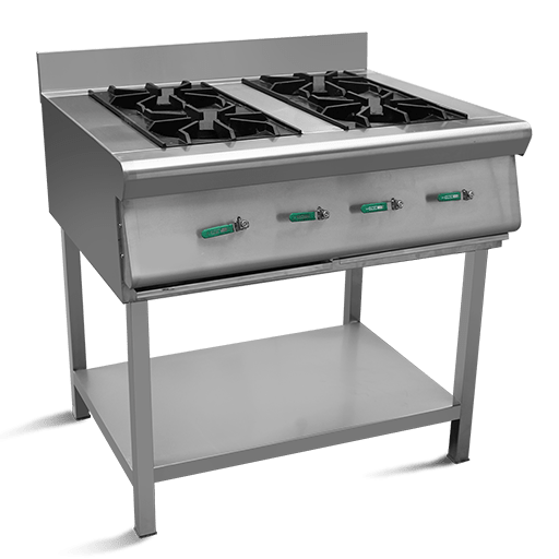 CSB04 - Cooking Stand with 4 burners