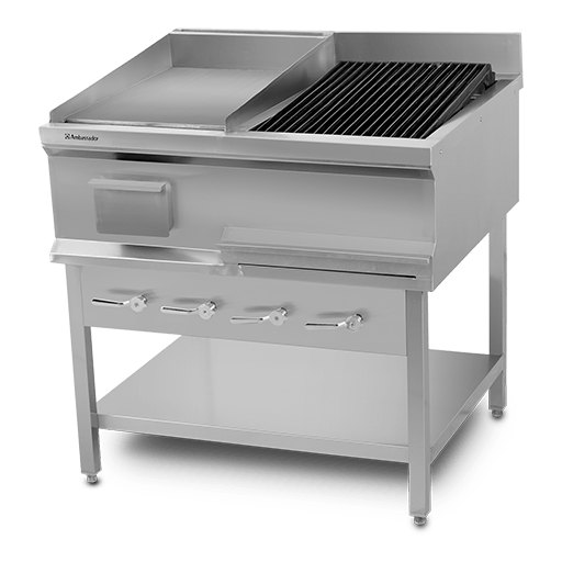 CHAR BROILER GRILL WITH HOT PLATE
