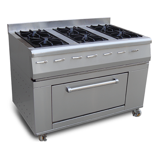 Cooking Range 6-Burners With Oven