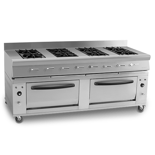Cooking Range 8 Burners With Two Oven