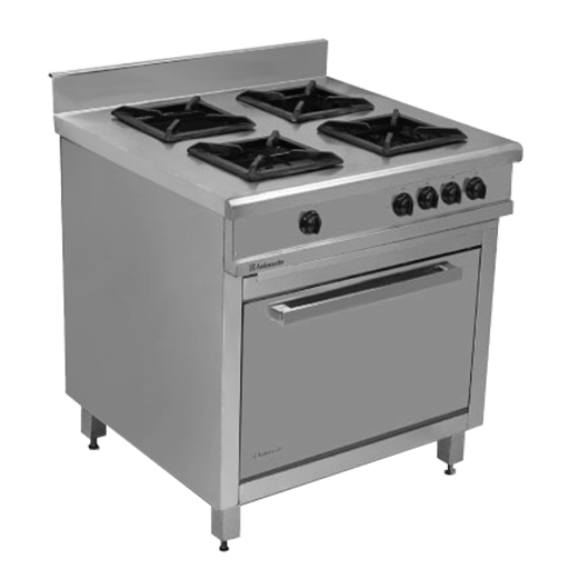 Cooking Stand 4-Burners With Oven