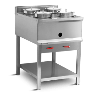 Soup Bain Marie 4 Round Bowls