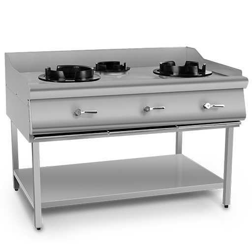 Wok Cooking Stand 3-Burners