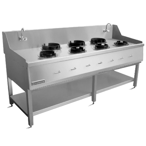 Wok Cooking Stand 7-Burners
